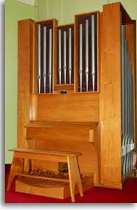 Limekilns Church organ